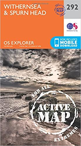 Withernsea and Spurn Head (OS Explorer Active Map)