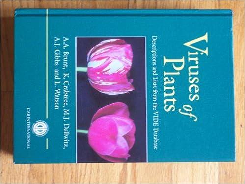 Book Viruses of Plants (Cabi)