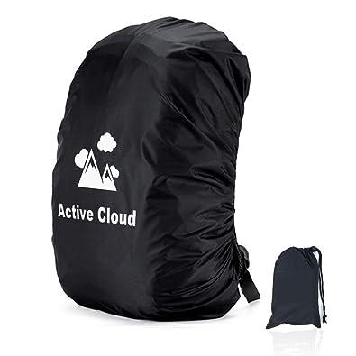 01b4415647ea 【最新 Active Cloud レインカバー リュックカバー バックパック 二重ベルト 雨よけ 脱落防止