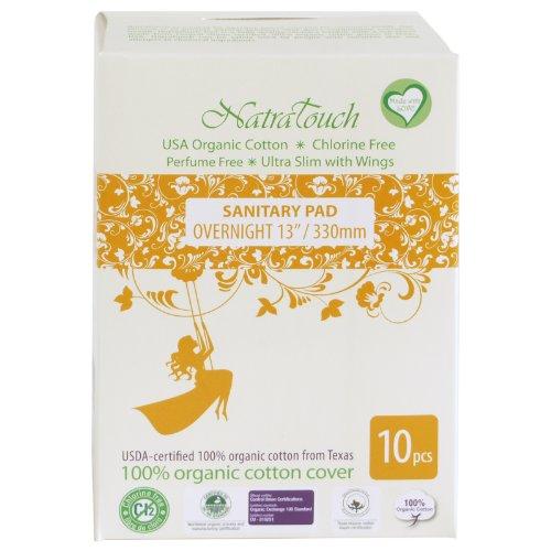Fragrance free sanitary pads