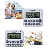 XREXS Digital Kitchen Timer Magnetic Countdown Up