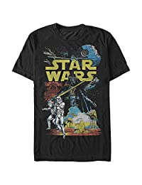 Star Wars Mens Rebel Classic Graphic T-Shirt