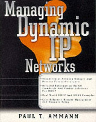Managing Dynamic IP Networks (Standards & - Servers Ip Dynamic