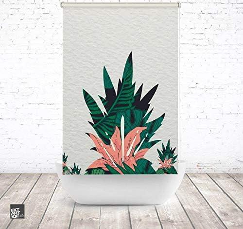 EXTARTIQE extar tiqe Ducha baño Enrollable 120 cm Textil Green ...