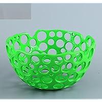 SU@DA Resina/perforado fruto creativo/placas/hogar decoración/adornos/comprar su frutas cesta/cestas/Frutero