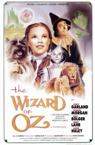 "Wizard of Oz  Movie Poster Print - 11"" X 17"""