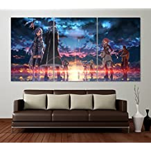 Best Print Store - SAO: Sword Art Online, Set of 3 Posters (24x36 inches)