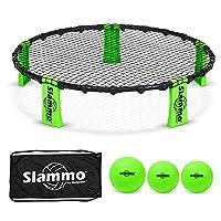 Juego de juego GoSports Slammo (incluye 3 bolas, estuche y reglas)