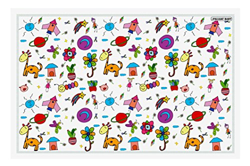 Disposable Placemats For Children Baby Toddlers Kids by Palluat | Extra Sticky Strips, Table Top, Restaurants | Enjoy Meals, No Cleaning - Ecofriendly 18