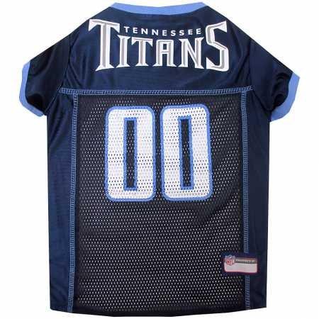 Tennessee Titans Dog Jersey Medium