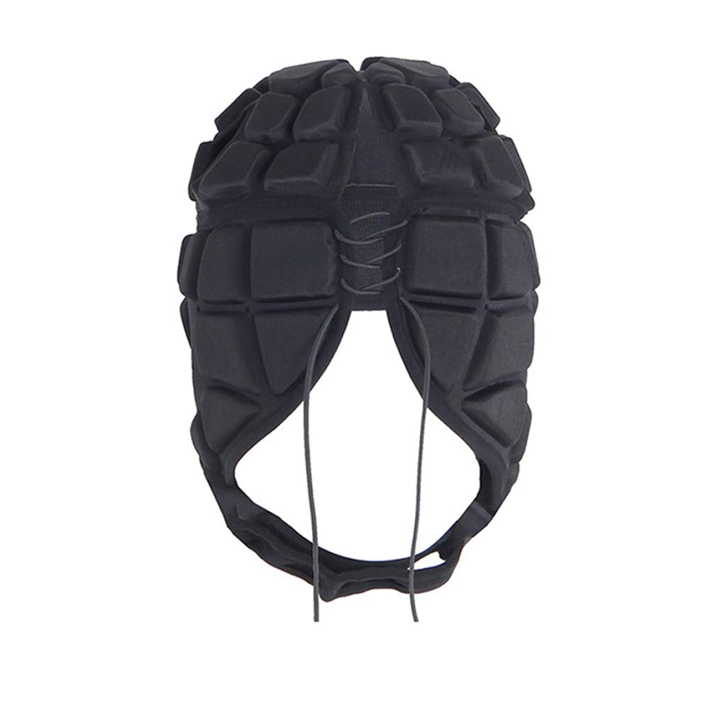 UK Adult Soccer Rugby Flag Football Head Guard Gear Protect Helmet Protector Hat