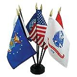 Wholesale Lot of 10 US Armed Forces Desk Set - 6 Flags