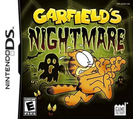 Amazon Com Garfield S Nightmare Nintendo Ds Artist Not Provided Video Games