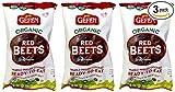 Gefen organic beets 3 pk (17.6 oz)