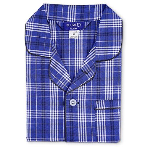 Bill Baileys Sleepwear Men's Broadcloth Woven Pajama Set (X-Large T, ()