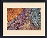 Framed Print of Asia,India,Rajasthan, Udaipur. Street Sari markt, cloth for sale