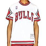 Chicago Bulls Shooter Shirt 1987-88 NBA Red