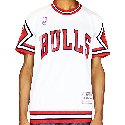 Chicago Bulls Shooter Shirt 1987-88 NBA Red by Mitchell & Ness