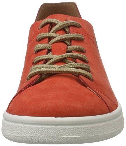 Tamaris Damen 23629 Sneakers Putrefazione (rosso Nubuc 570)