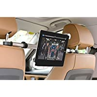 YANTRALAY SCHOOL OF GADGETS Universal Extended 360° Rotating Car Backseat Tablet Holder Mount for Tablets Up to 7-11-inch (Black)
