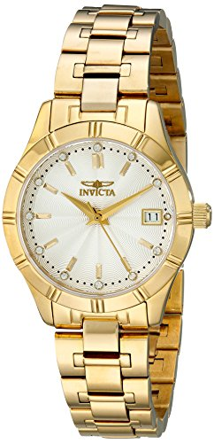 Invicta Women's 18126 Specialty Analog Display Swiss Quartz Gold Watch