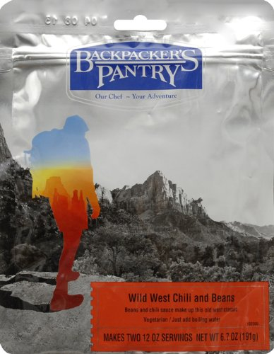 Backpacker's Pantry Wild West Chili with Beans, Two Serving - Chili House Mountain