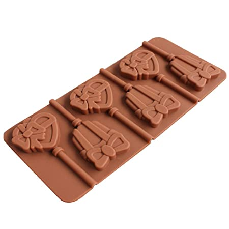 Amazon.com: Gessppo Lollipop Silicone Bakeware Mold for Cake, Chocolate, Jelly, Pudding, Dessert Molds Cake Decorating Ice Mould Candy Cookies Chocolate ...