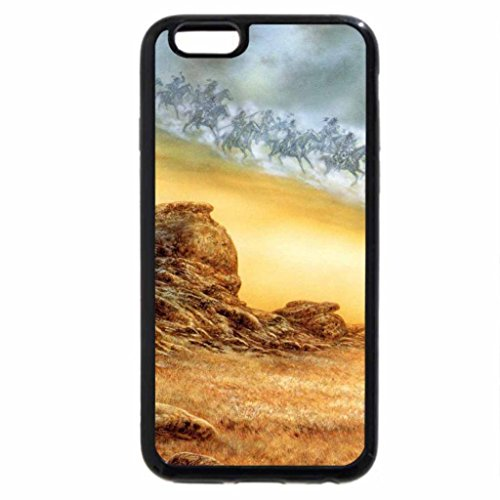 iPhone 6S / iPhone 6 Case (Black) sending smoke signal