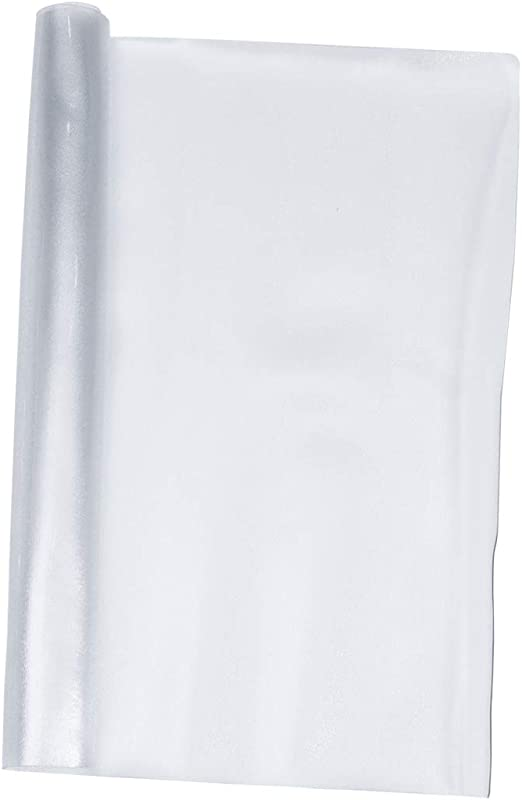 STOBOK 60x120cm Protector de Escritorio Transparente de Cristal ...