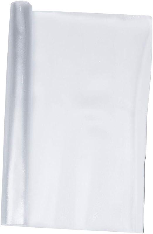 Toyvian - Protector de Mesa Transparente, 60 x 120 cm, de Madera ...