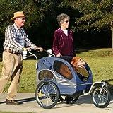 Solvit HoundAbout Pet Stroller, Large, Sapphire Blue