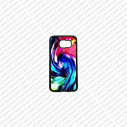Krezy Case Samsung Galaxy S6 Case, Cute Samsung Galaxy S6 Cover, Colorful Swirl Samsung