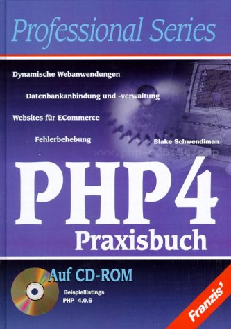 PHP 4 Praxisbuch, m. CD-ROM