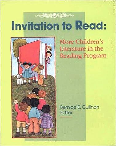 invitation to read more children s literature in the reading
