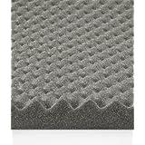 2-1/4 x 54 x 54 Acoustic Egg Crate Foam - Charcoal