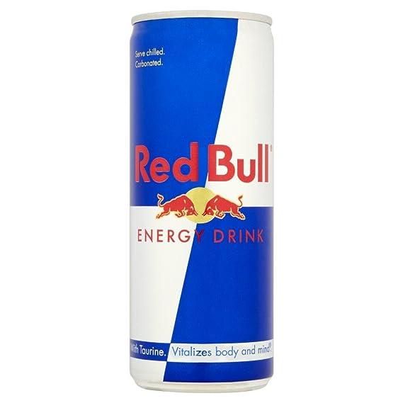 760b16c3b0f68 Red Bull - Bebida energética - 250 ml - Paquete de 2 latas  Amazon ...
