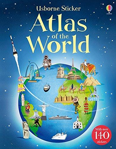 Sticker Atlas of the World -