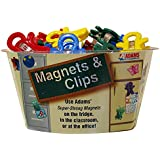 ADAMS 3303-50-3848 40 Count Magnet Man Magnets and Clips