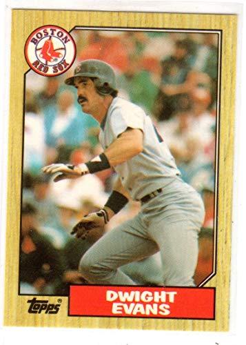 Dwight Evans Topps Tiffany Collectors Edition Baseball Card-Boston Red Sox
