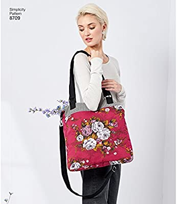 Simplicity Creative Patterns US8709OS Gertrude Made Bags Pattern
