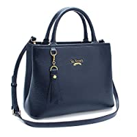 St. Scott LONDON Women's Meg Square Handbag GNBL457 by St.Scott LONDON