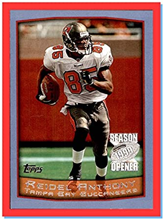 1999 Topps Season Opener  121 Reidel Anthony TAMPA BAY BUCCANEERS FLORIDA  GATORS at Amazon s Sports Collectibles Store 8f309d828a6