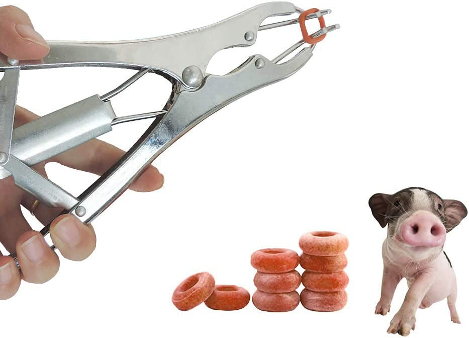 Jnzr Animal Castration Pliers, Tail Cutter Castration Banding Tail ...