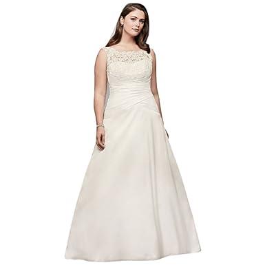Plus Size Taffeta Wedding Dress