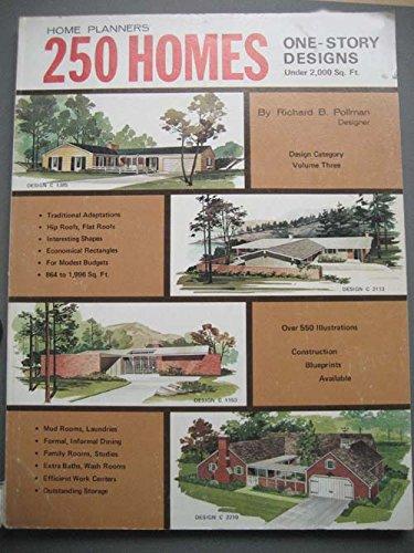 250 One-Story Home Designs, Midcentury, Volume Three