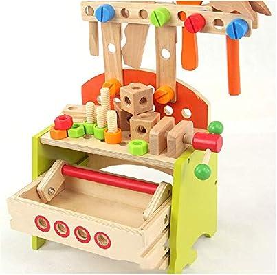 Bricolaje para niños Carpintero de Juguete Construcción de ...