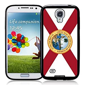 Cool Painting Flag of Florida - Protective Designer BLACK Case - Fits Samsung Galaxy S4 i9500