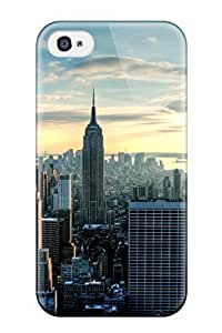 Travers-Diy Iphone 4/4s case cover Bumper Skin Cover vG3us2YbDZ2 For City Accessories