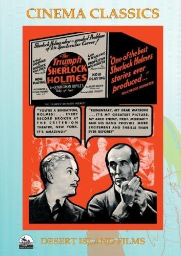 The Triumph of Sherlock Holmes by Arthur Wontner