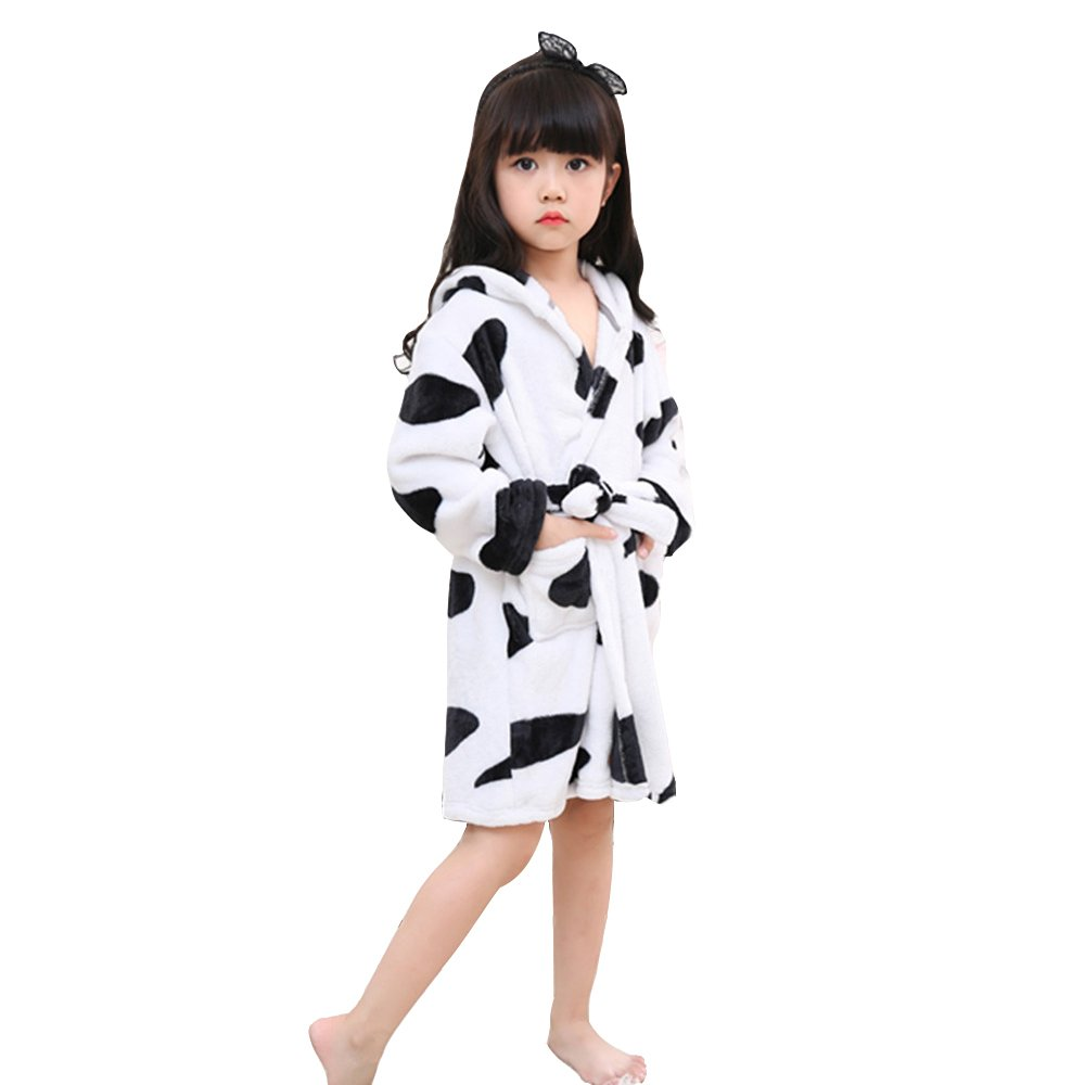 Amazon.com: Mystery&Melody Unicorn Bathrobe & Pajamas Cosplay Costumes Flannel Hooded Animals Dressing Gown Unisex: Clothing